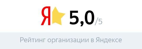 Рейтинг в Яндексе