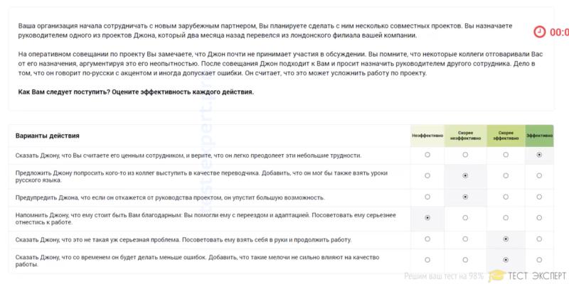 Ответы на тест Лидеры России 2021